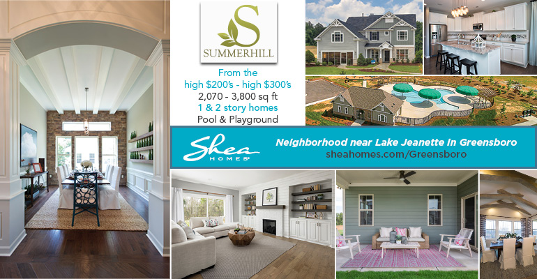 Shea Homes - Spotlight Banner