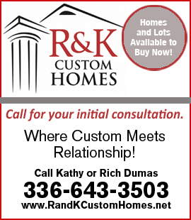 R & K Custom Homes - Sidebar Banner 1