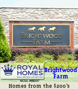 Royal Homes of NC / Brightwood Farm - Sidebar Banner 1
