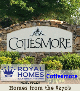 Royal Homes of NC / Cottesmore - Sidebar Banner 1