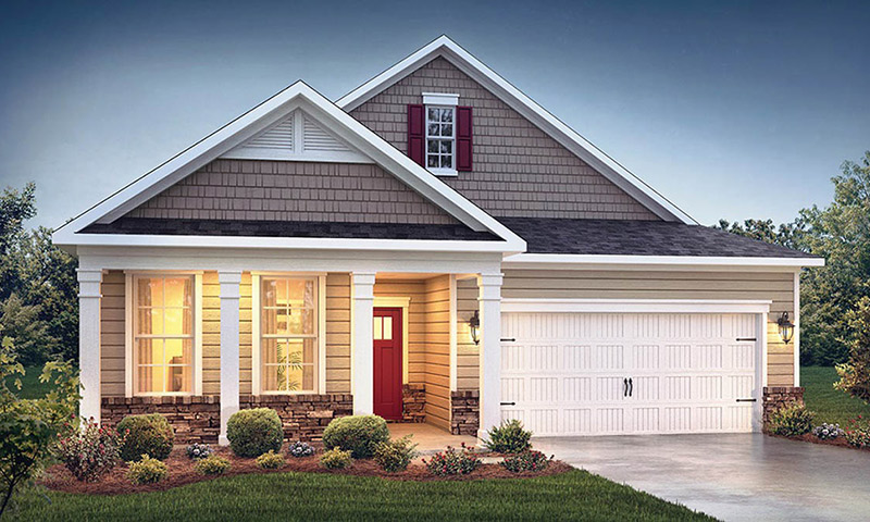 Freedom Homes - The Landing at Rocklyn - 5157 Garnet Hill Drive, Clemmons, NC