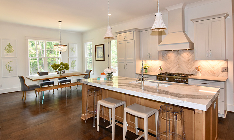 Leonard Ryden Burr Real Estate - The Arbors at Meadowlark - Wishon & Carter Builders - Kitchen