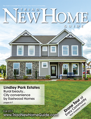 Triad New Home Guide - Fall 2017 Cover