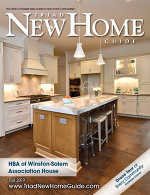 Triad New Home Guide - Fall 2019 Cover
