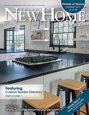 Triad New Home Guide - Fall 2020 Cover