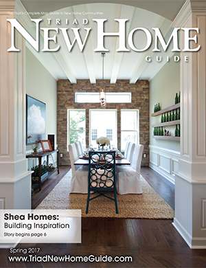 Triad New Home Guide - Spring 2017 Cover