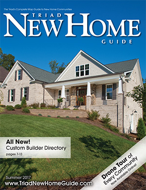 Triad New Home Guide - Summer 2017 Cover