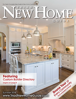 Triad New Home Guide - Summer 2018 Cover