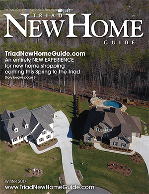 Triad New Home Guide - Winter 2017 Cover