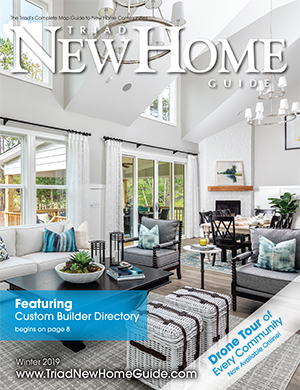 Triad New Home Guide - Winter 2019 Cover