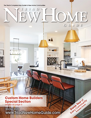 Triad New Home Guide - Winter 2020 Cover