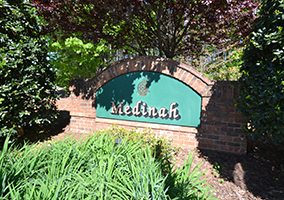 Hubbard Commercial - Meadowlands - Medinah - Entrance