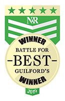 News & Record Guilford's Best Winner - Logo