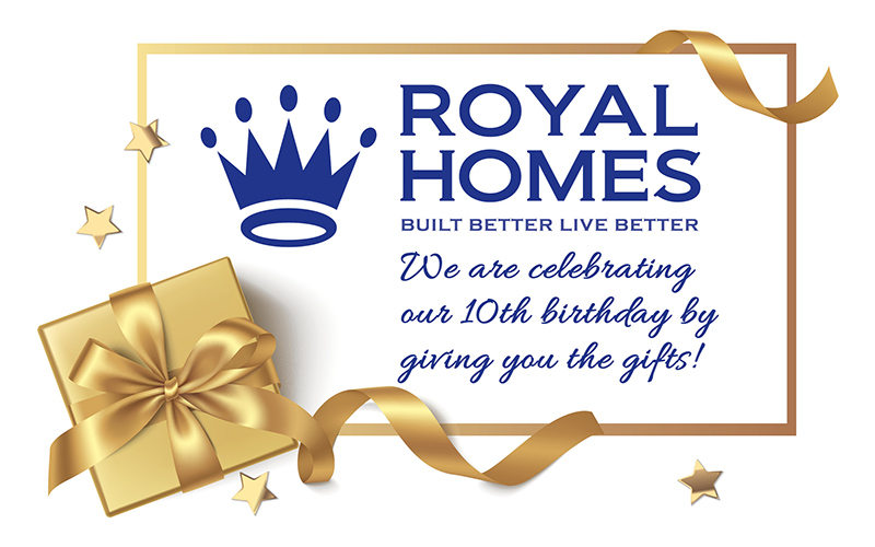 Royal Homes of North Carolina - Birthday Giftbox