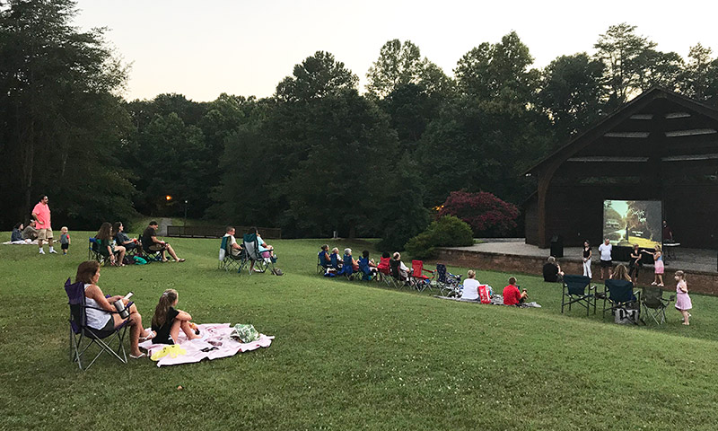 King - Movie Night at Central Park's Amphitheater