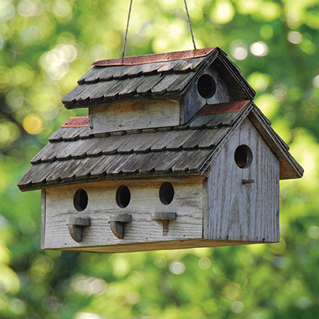Spring Decorating Ideas - Birdhouse