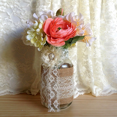 Spring Decorating Ideas - Mason Jar