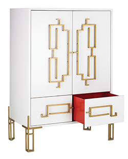 High Point Market - Zhin Cabinet