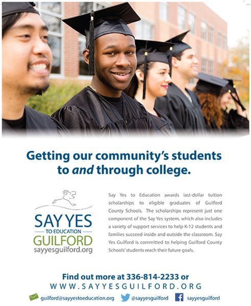 Say Yes Guilford Flyer