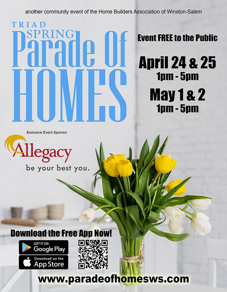 Winston-Salem Parade of Homes - Spring '21