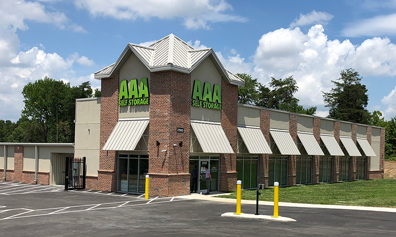 AAA Self Storage - Building